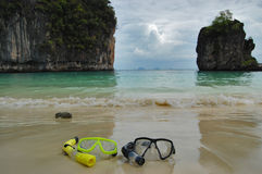 Snorkeling in Thailand Stock Image
