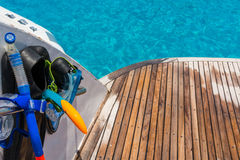 Snorkeling time Stock Photography