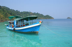 Snorkeling trip. Archipelago of Ko Chang, Thai gulf Stock Photography