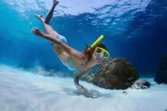 Snorkeling Royalty Free Stock Photos