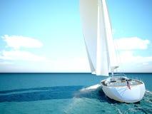 Snorkeling w płytkiej tropikalnej wodzie Obrazy Stock