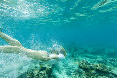 Snorkeling Royalty Free Stock Photos