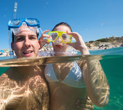 Snorkeling world Royalty Free Stock Photo