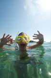Snorkeling world Royalty Free Stock Image