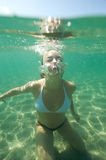 Snorkeling world Stock Photo