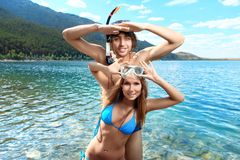 Free Snorkelling Royalty Free Stock Photo - 18088145