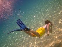 Snorkelling Стоковое Изображение RF