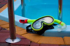 Snorkelling Diving Stock Photo