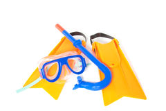 Snorkelling equipment Royalty Free Stock Image