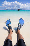 Snorkelling Stock Photography