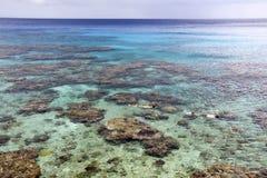 Snorkla för Stillahavs- ö Arkivbilder