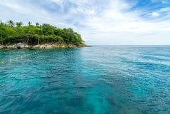 Snorkla punkt Phuket Royaltyfria Foton