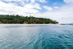 Snorkla punkt Phuket Arkivbild