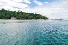 Snorkla punkt Phuket Royaltyfri Fotografi