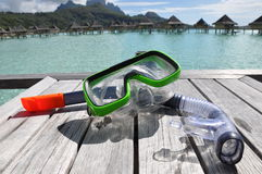 Snorkle and Mask Stock Photography