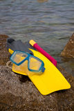 Snorkling - 1 Royalty Free Stock Photography