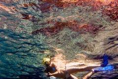 Snorkling Fotografia de Stock Royalty Free