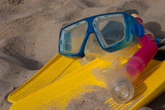 Snorkling - 6 Royalty Free Stock Photos