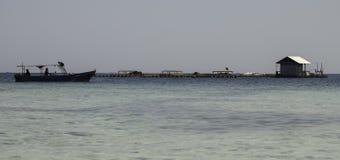 Snorkling teren Zdjęcia Stock