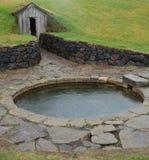 Snorri Sturluson basen, Iceland Zdjęcia Royalty Free