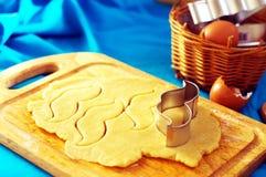 Snorsnijder voor koekjes stock afbeelding