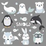 2018-07-09 Snow1 stock illustratie