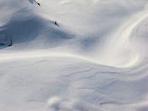 Snow. The snow are very interesting Stock Photo