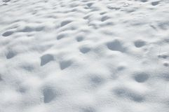 Snow. Abstract winter field covered in snow Stock Photography