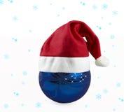 Snow. Christmas; decorations; hat; holiday; peseasonal; red; santa; season; seasonal; white; x-mas; xmas; feed; cafe; warm; commodities; natural; christmas time royalty free stock image