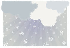 Snow stock illustrationer