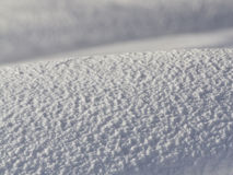 Snow. Beautiful snow pattern somewhere above arctic circle stock photography