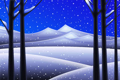The Snow Stock Photography