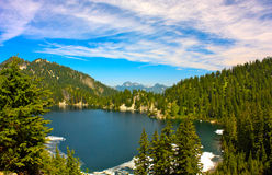 Snow湖2 库存照片