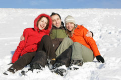 On snow Stock Photos