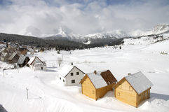 Snow 5. Snow at the zabljak Stock Images