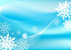 Snow. Blizzard background, winter style Stock Illustration