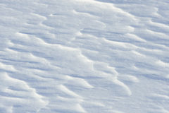 Snow. Patterns in blowing and drifting snow Royalty Free Stock Image