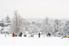 After snow Stock Photography