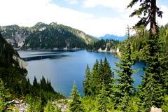 Snow湖 库存图片