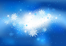 Snow abstract background Royalty Free Stock Photo