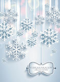 Snow abstract background. Royalty Free Stock Image
