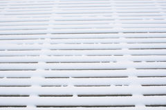 Snow abstract pattern Stock Photo