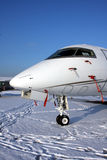 Snow aircraft Royalty Free Stock Photography
