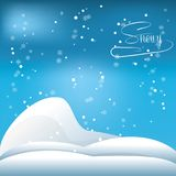 Snow and alps design. Alps with snow icon colorful design vector illustration Royalty Free Stock Image