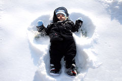 Free Snow Angel Stock Images - 13267324