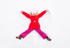 Free Snow Angel Stock Image - 22023641