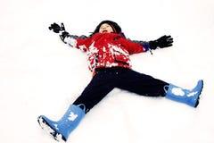 Free Snow Angel Stock Image - 3938981