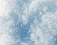 Snow as a background. close-up Royalty Free Stock Images