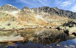 Autumn in High Tatras mountains, Slovakia Stock Photo