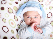 Snow baby Stock Photo